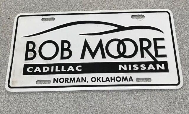 Bob Moore Cadillac, Nissan, Norman, OK License Plate ...