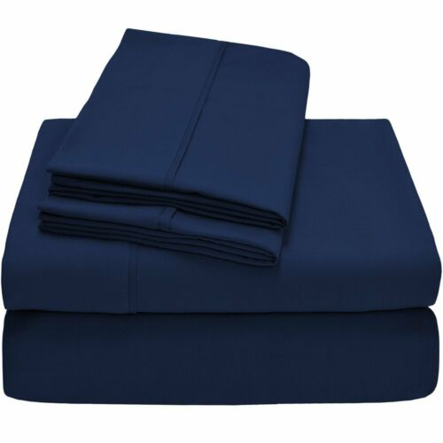 2600 Series 400TC Wrinkle-Free Super soft 4pc Bed Sheet Set Match for Comforter