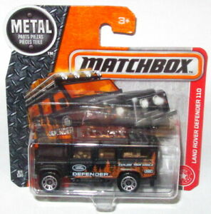 Matchbox Land Rover Defender 110 4WD 4x4 Car MOC S//Card Explore your World MBX