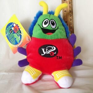 RARE-Y2K-Bug-Plush-Millennium-Collectible-Plush-Stuffed-Toy