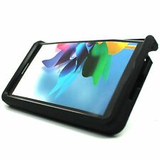 For Samsung Galaxy Note Edge Black Rugged Stand Hybrid Hard Cover Case