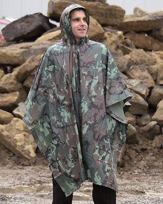 Regenponcho Regen Umhang Cape Angeln Jagd Wandern Reiten Regencape Nässeschutz