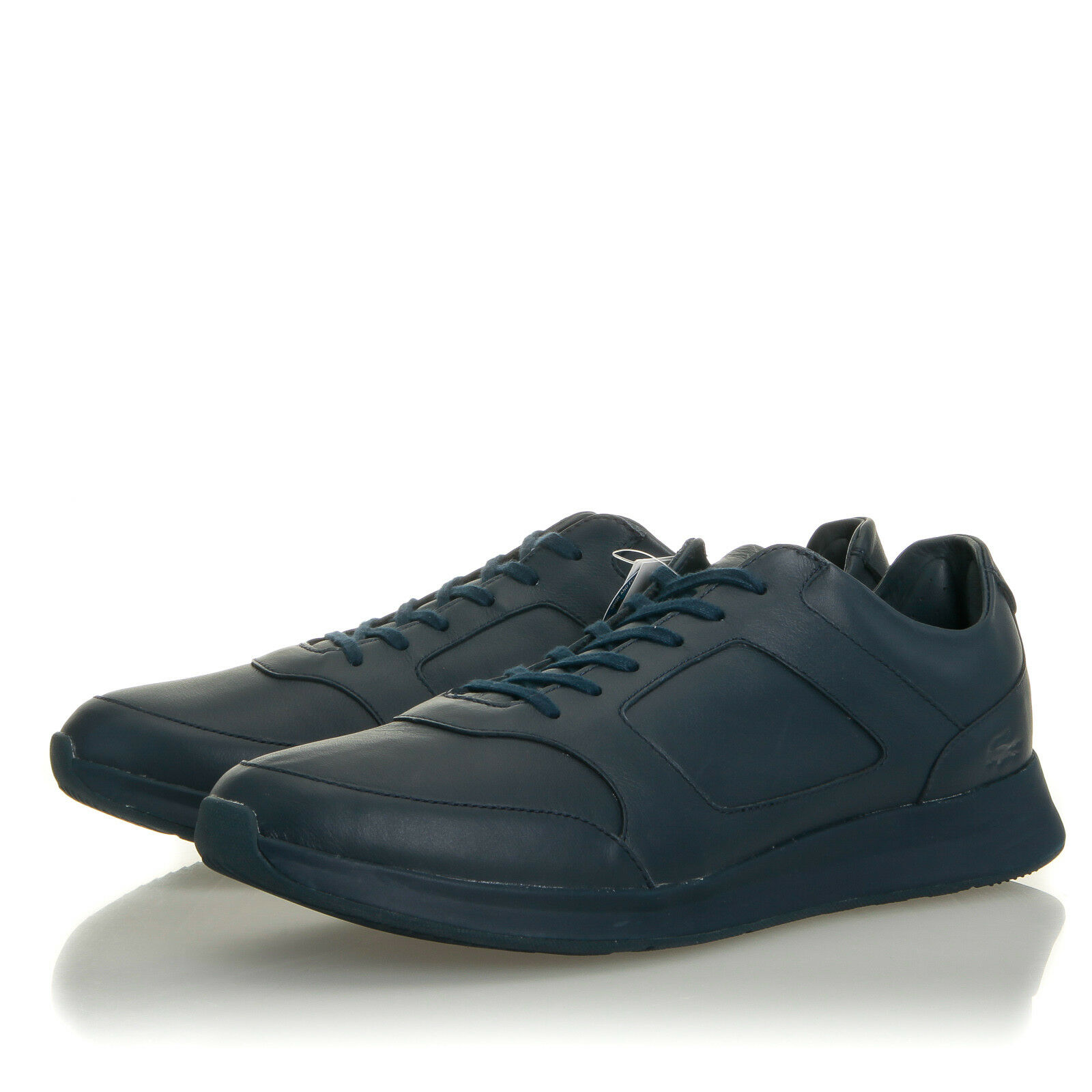 Lacoste Joggeur 316 Navy Blue Leather Sneaker - Uomo 12