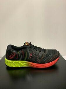 Dettagli su ASICS Mens Black Running Shoes Noosa FF 2