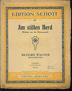 Wagner-Am-stillen-Herd-Meistersinger-alte-Noten-Ubergroesse