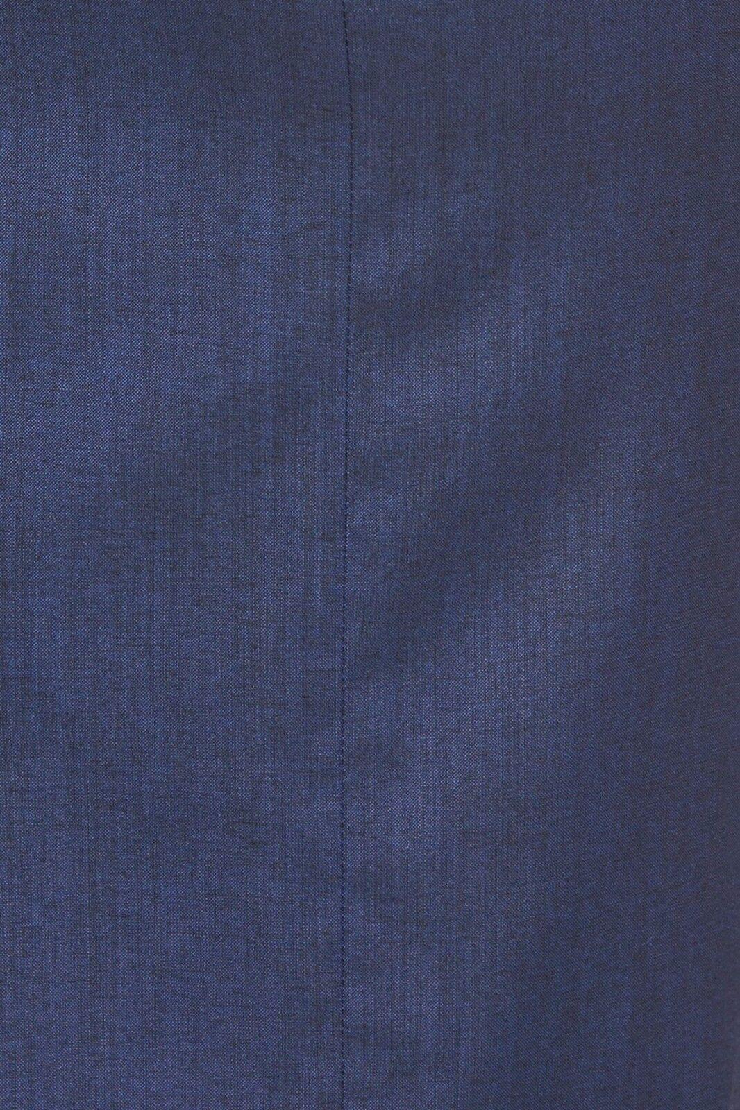 NWT BOSS by Hugo Boss Delura Stretch Wool Wool Wool Blend Sheath Dress bluee  545 – Size 0 cc8a42