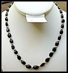 Natural Black Tourmaline Beads