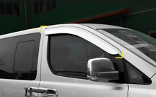 Smoke Window Sun Vent Visor Rain Guards 2P K015 For HYUNDAI 2007-18 iMax Starex
