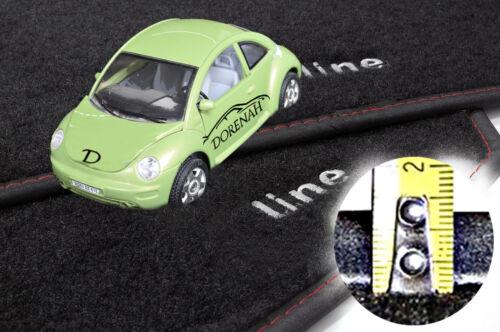 Tappetini Smart ForTwo 2° Serie bordi personalizzabili no original 11
