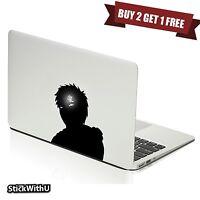 Macbook Air Pro Vinyl Skin Sticker Decal Naruto Anime Gaara Glow Mark m1034