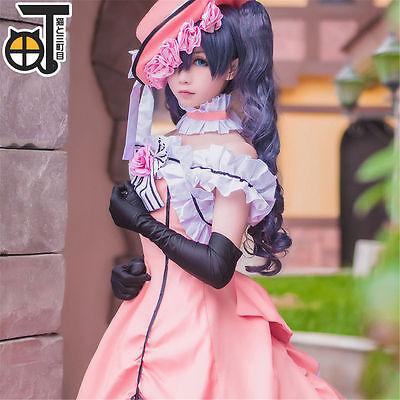 Black Butler Ciel Phantomhive Lolita princess Dress Cosplay Party Costume Outfit | eBay