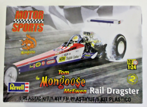 Details about Factory Sealed Revell Tom 'The Mongoose' McEwen Rail Dragster  in 1/24 4908