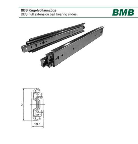 Vollauszug BMB Kugelvollauszug 90kg Traglast 4532.300  Länge 300mm
