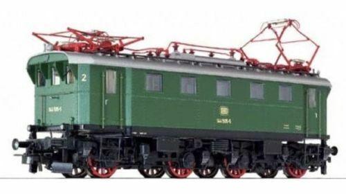 HO Gauge Liliput L132548 Electric Locomotive  144 505-5 DB verde Ep IV BNIB