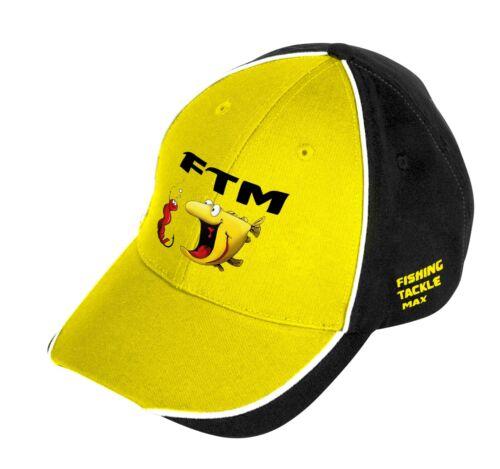 FTM Basecap Cappy Neu August 2019 Sonnenschutz Fishing Tackle Max Cap Mütze