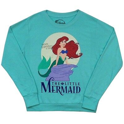 The Little Mermaid Classic Ariel Disney French Terry Junsior Sweater S-XL