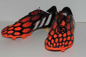 newest 325a5 66fce Image is loading Adidas-Predator-Instinct-FG-soccer-boots-M17643-Black-