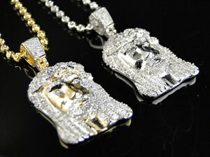 Mens ladies real genuine diamond exquisite mini jesus pendant image is loading mens ladies real genuine diamond exquisite mini jesus aloadofball Image collections