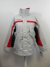 Columbia Sportswear Alsea River Womens Parka Grey Size Large US Size 18-20