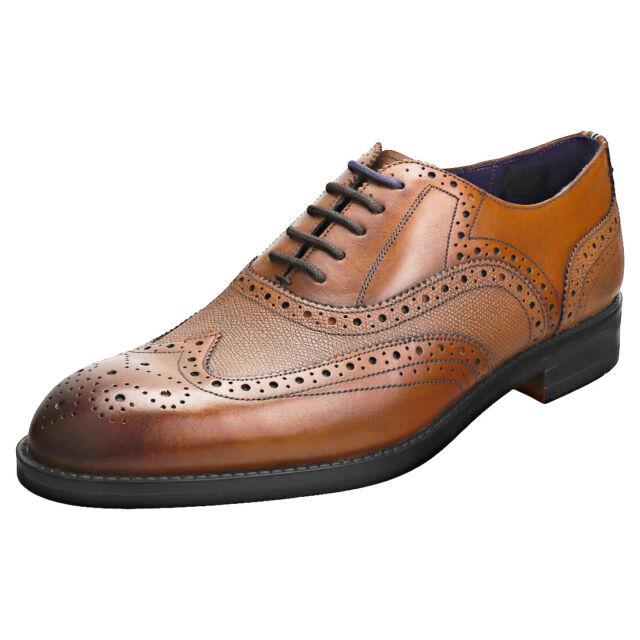 Ted Baker Almhano Mens Tan Leather