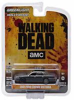 Greenlight 2001 Ford Crown Victoria The Walking Dead Governor's 1:64 44740-e