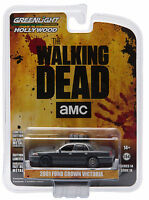 Greenlight 2001 Ford Crown Victoria The Walking Dead Governor's 1:64 44740-e