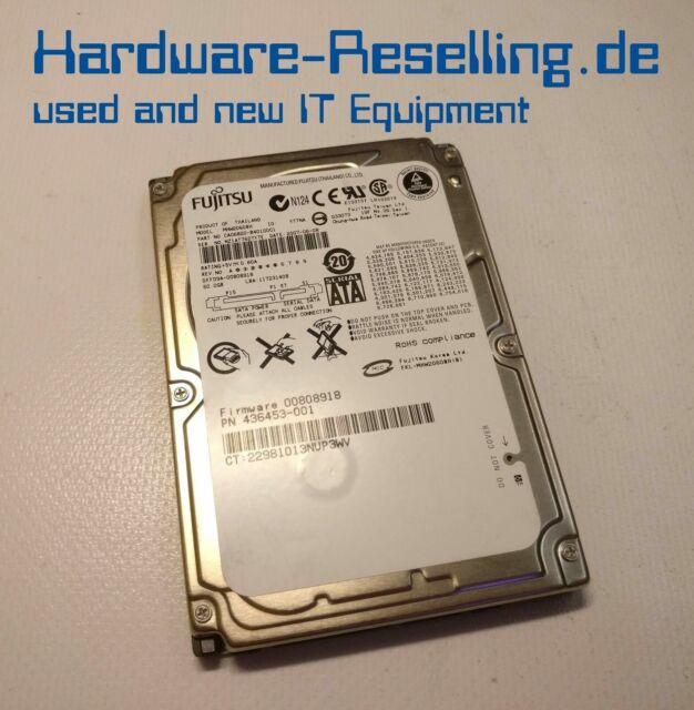 """HP 60GB 5400 rpm 2.5"""" SATA MHW2060BH 436453-001 CA06820-B40100C1 10Y01J02373026"""