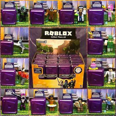 Roblox Celebrity Gold Purple Series 3 Mystery Action Figures Kids