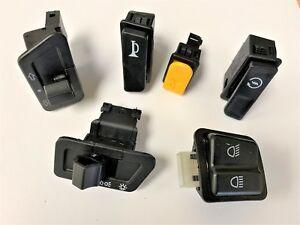 6pcs-Set-Turn-Signal-Headlight-Ignition-Start-Switch-Dimmer-Horn-Button-gy6