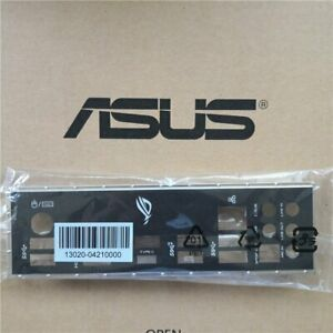 NEW-FOR-ASUS-ROG-STRIX-X470-F-GAMING-Motherboard-Bezel-Chassis-Rear-Shelf-X470