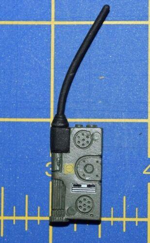 "1:6 Green Walkie-Talkie Handheld Transceiver Radio for 12/"" Action Figure C-259"