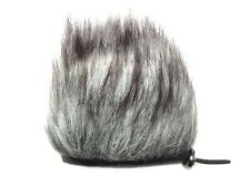 Microphone Interview Muff Fur Windscreen for Zoom H1 DR05 DR100 Q3 Q3HD Sony D50