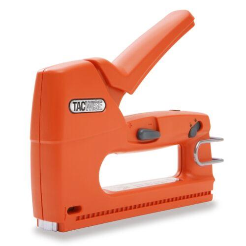 Upholstery Staple Nail Gun Fabric Upholstering Stapler Furniture Tack Heavy Duty