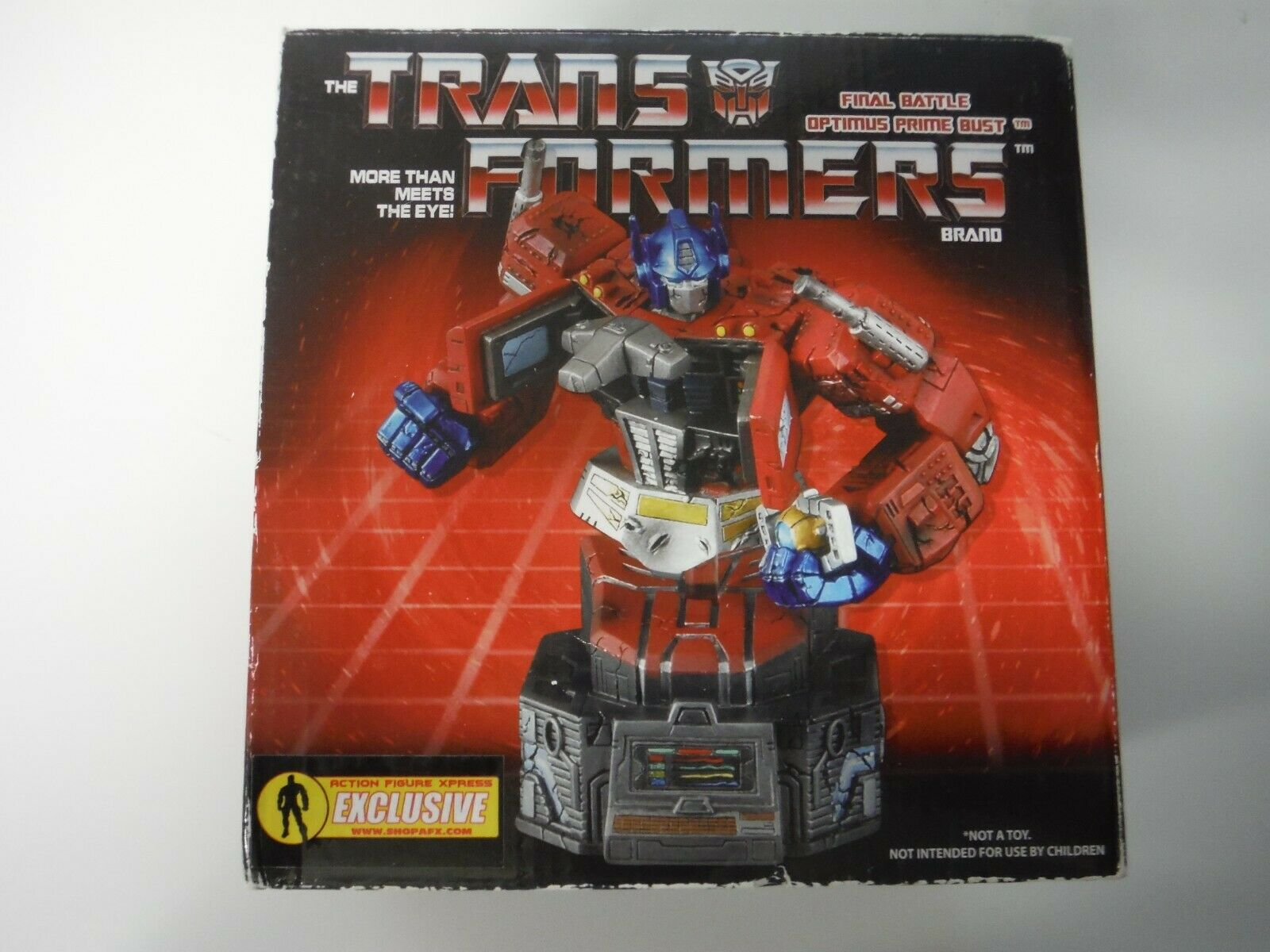 Trasformatori Final Battle Optimus Prime autobust Exclusive 581 1000 Diamond Select