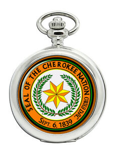Cherokee-Nation-Tribe-Pocket-Watch