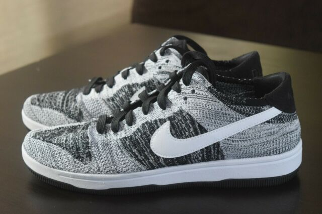 separation shoes d1bc1 6798a Nike Dunk Low Flyknit Oreo Basketball Shoe 917746-003 Size 9 RARE