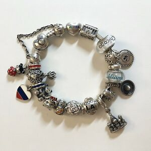 Details About Super Rare Pandora Limited Edition Exclusive Travel Charms Price Per Charm