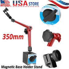 350mm Universal Dial Test Gauge Indicator Rotary Magnetic Stand Base Holder Rack