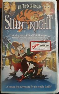 Buster Chauncey S Silent Night Vhs Brand New Factory Sealed In Clamshell 43396210707 Ebay