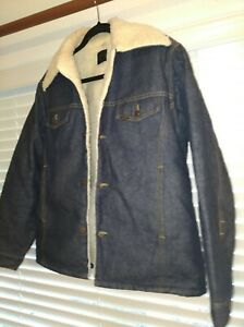 a9959f3f6d Image is loading Genuine-Roebucks-Denim-Jacket-Sears-Vintage-1960-039-