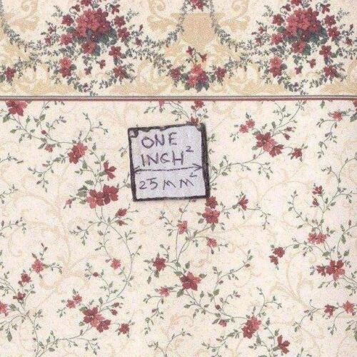 Sonata 203D234 Eisenhart MiniGraphics wallpaper dollhouse 1//12 scale 1 sheet