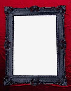 Espejo-Barroco-de-Pared-Negro-Antiguo-ROCOCO-90x70-cm-decoracion-REPRO