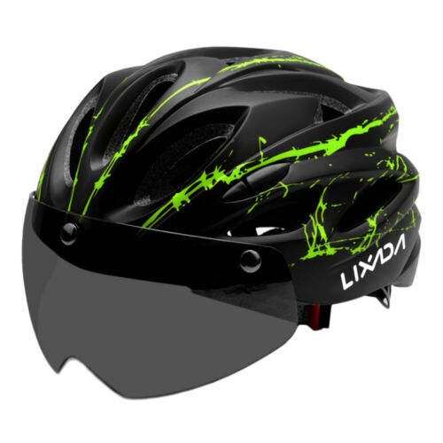 Details about  /Leichter Fahrradradhelm mit abnehmbarer Magnetbrille Mountain Road E4R9