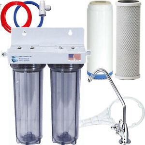 Dual Under Sink Fluoride Arsenic Chlorine Voc S Filter