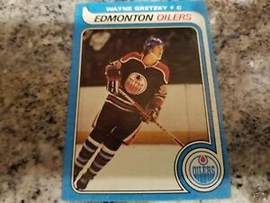 1979-80-Topps-Wayne-Gretzky-rc-Rookie-Hockey-Card-Oilers-Kings-High-Grade