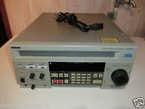 Sony-LVR-4000P-CRVdisc-LaserDisc-Recorder-funktionsfaehig-2J-Garantie