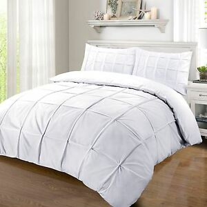 Hotel Quality 100/% Egyptian Cotton Duvet Cover Set Available in All Sizes