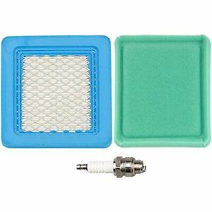 Details about BS-491588S Air Filter + Pre Cleaner Spark Plug For MTD  Troy-Bilt TB110 TB130