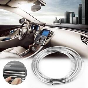 Applied 3m Chrome Self Adhesive Car Edging Styling Moulding Trim Strip 6mm Good