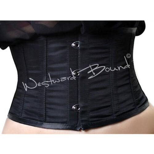 "B0062BK *CLEARANCE* UNDERBUST Burlesque BONED CORSET BELT 34/"" RRP £89.99"